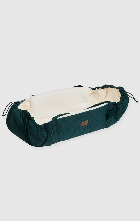 najell couffin sleepcarrier heritage green